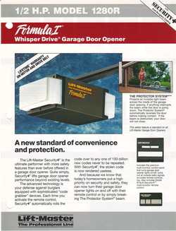 Liftmaster 1280 Garage Door Opener Manual Garage Door