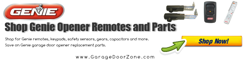 Shop for Genie Remotes and Parts