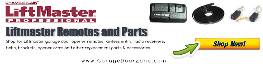 Shop for Liftmaster opener remotes and parts