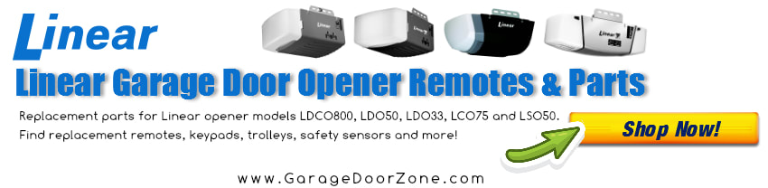 Linear Garage Door Opener Parts and Remotes