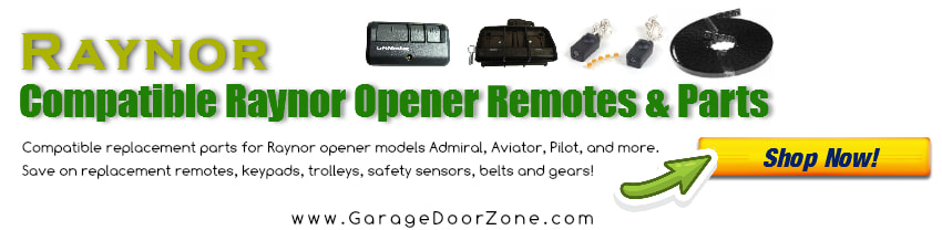 Raynor Prodigy Opener Manual Garage Door Zone Support